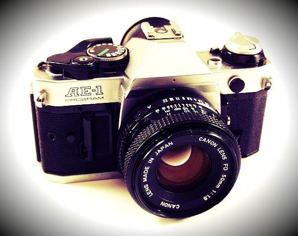 Old Canon SLR Camera