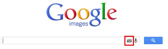Google Image Search camera icon