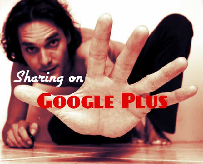 sharing google plus