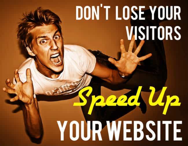 web design speed info graphic Blogging