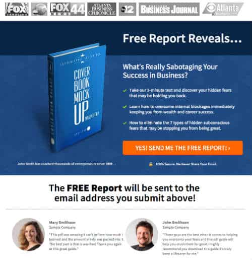 Leadpages reviews deep dive into this easy to use tool mad lemmings leadpage template giveaway pronofoot35fo Choice Image