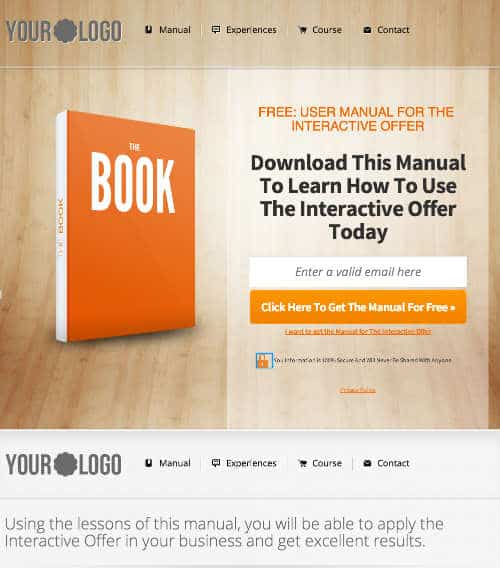 leadpage template giveaway 2