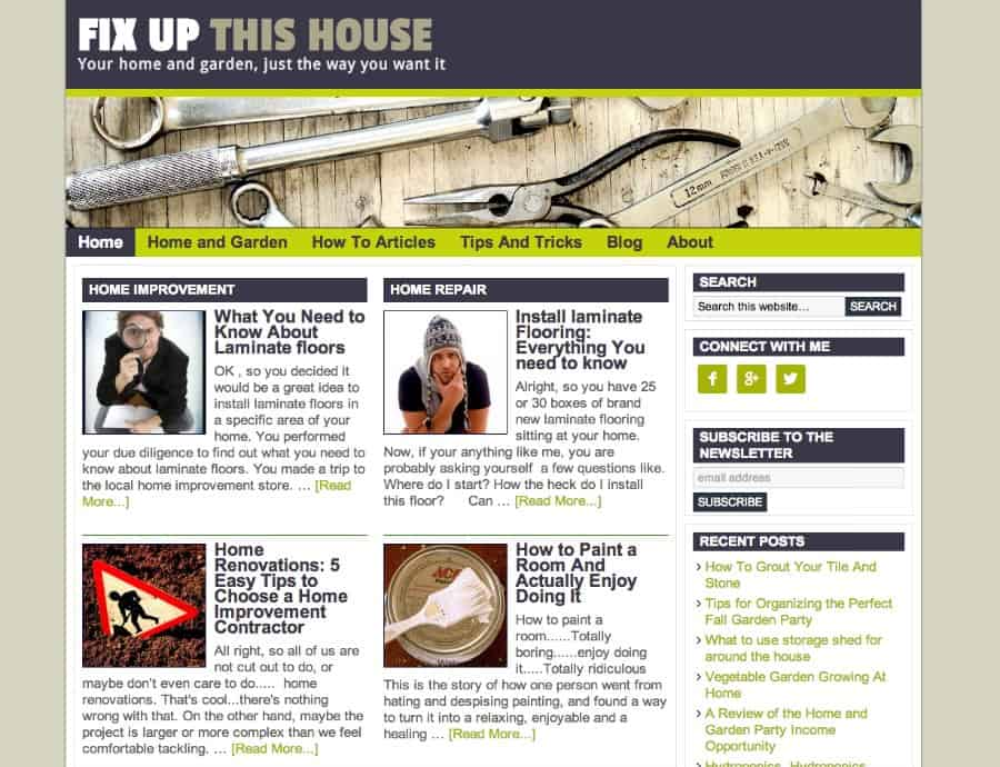 new site fixupthishouse