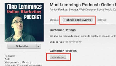review mad lemmings podcast itunes
