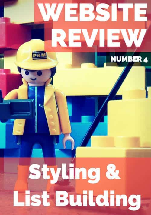 website review list building