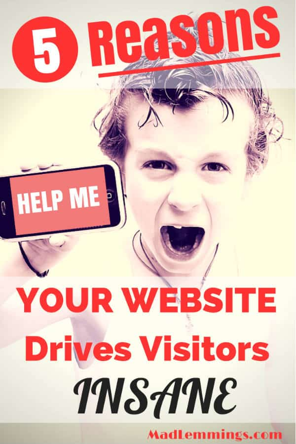 reasons website drives visitors insance