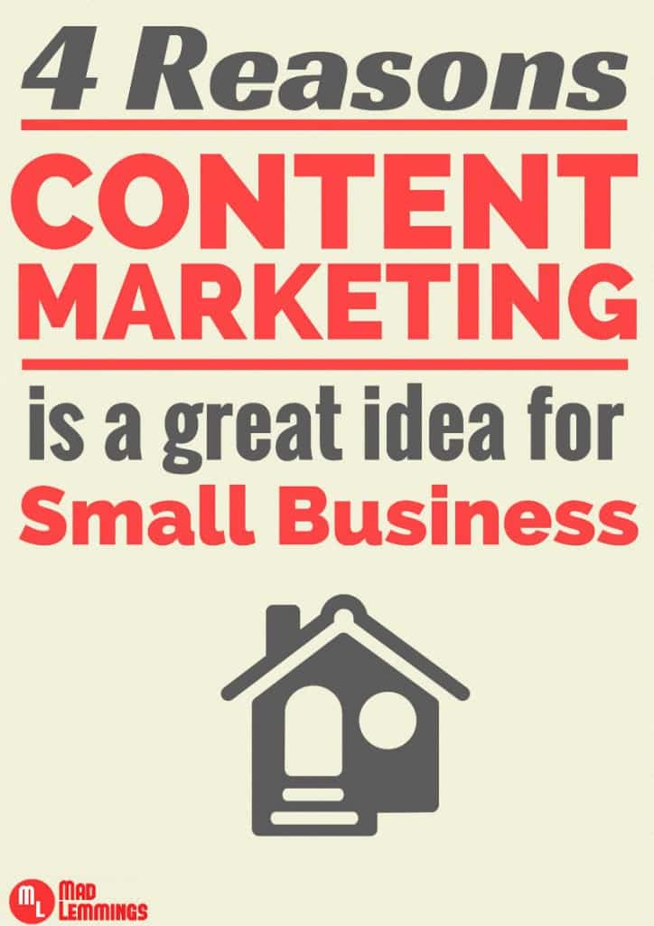 Content Marketing is Important for Small Business