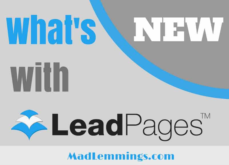 Leadpages New Templates And Features