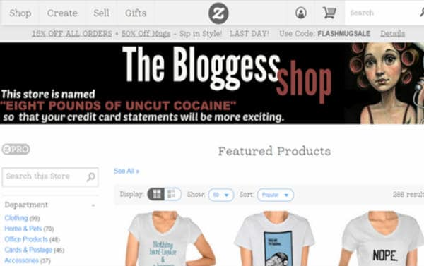 Bloggless Tshirts