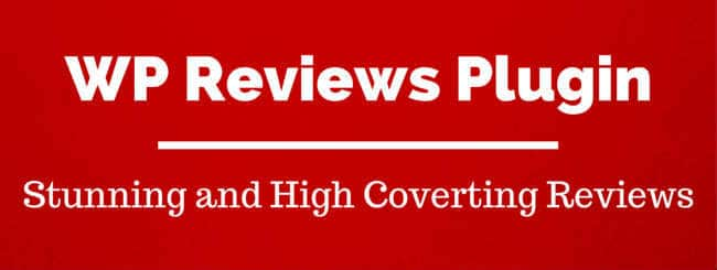 WordPress Reviews Plugin