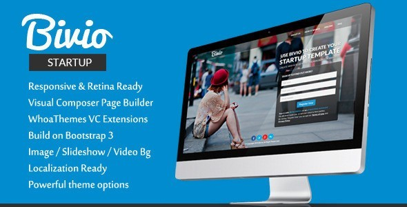 Bivio WordPress Landing Page Themes