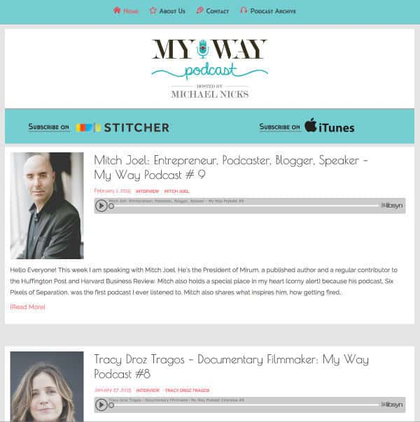 My Way Podcast New