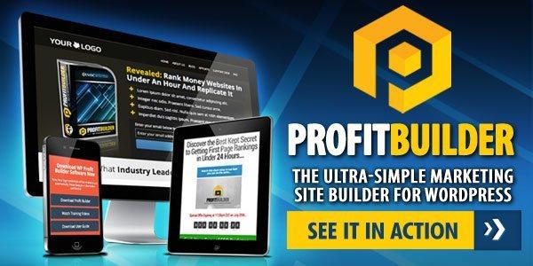 WP Profit Builder Page Builder