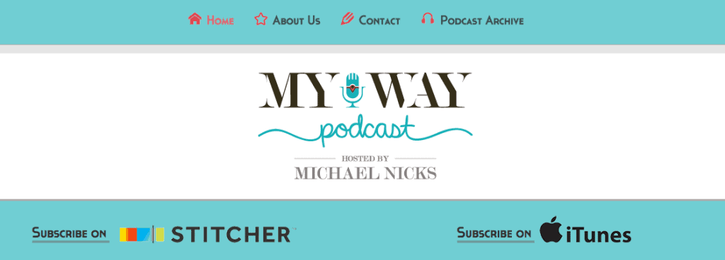 Website Redesign MyWay Podcast