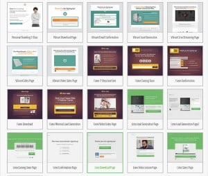 Thrive Landing Page Templates