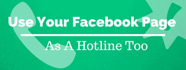 facebook-page-hotline