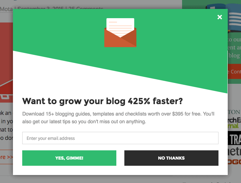 bloggingwizard popup