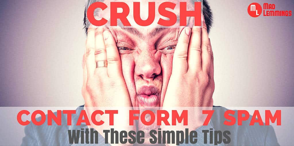 Crush Contact Form 7 Spam