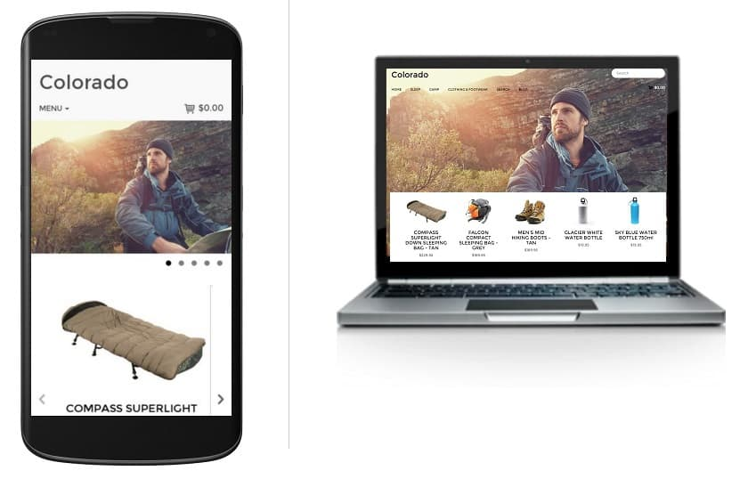 ecommerce mobile responsive web design
