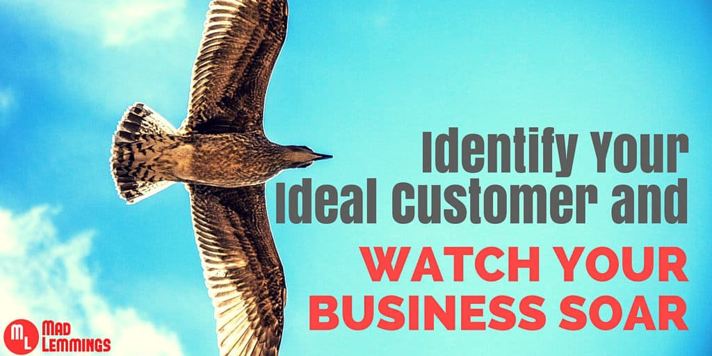 Identify your ideal customer and watch your business soar