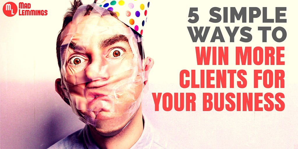Win More Clients for Your Online Business