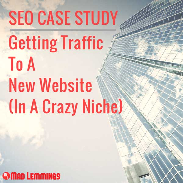 SEO Case Study: A New Website