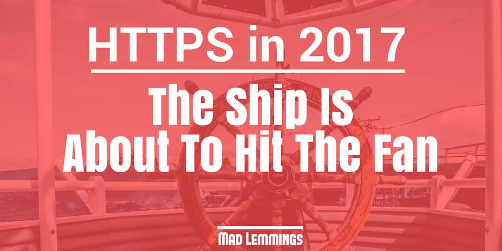 SEO and Https - what it means for your wordpress website in 2017