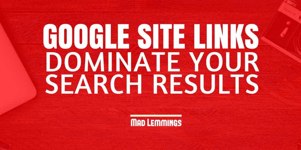 How To Get Google Site Links