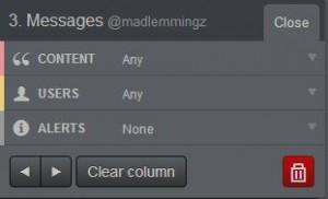 tweetdeck edit column