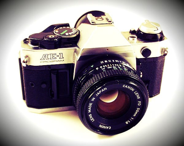 Old Canon SLR Camera