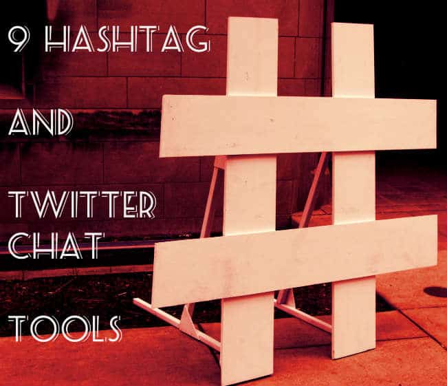 hashtag twitter chat tools
