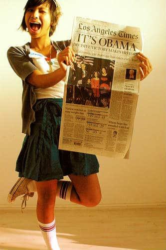 newspaper celebrate