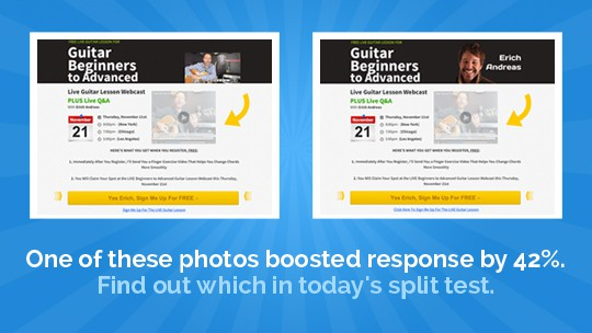 Split Test leadpages