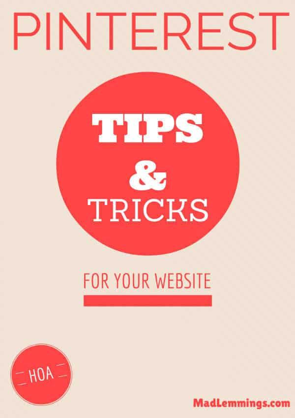 pinterest tips tricks