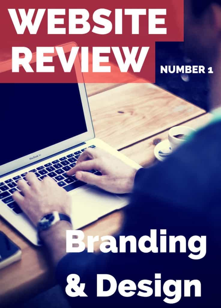 website review branding design