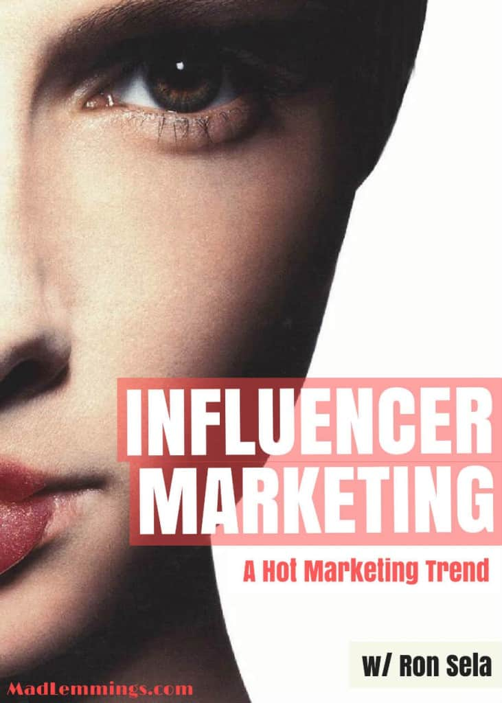 influencer marketing ron sela