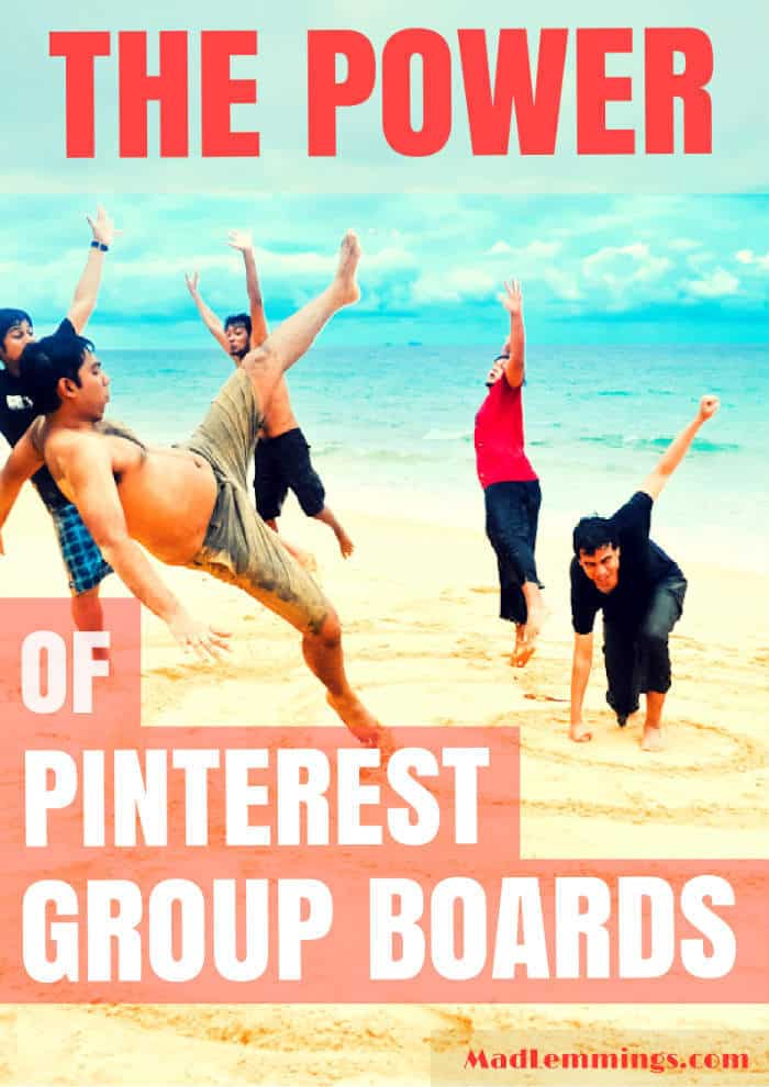 power of pinterest group boards