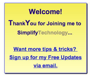 simplify tech signup