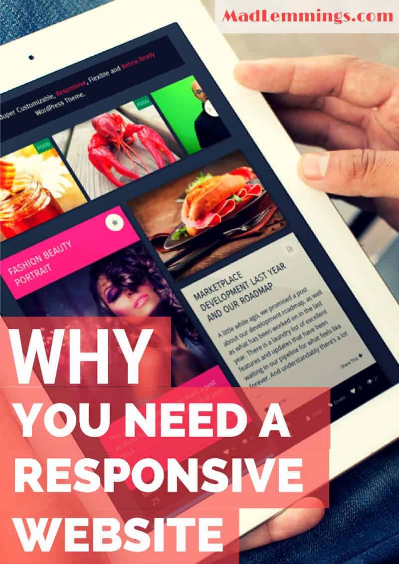 Why you need a responsive website