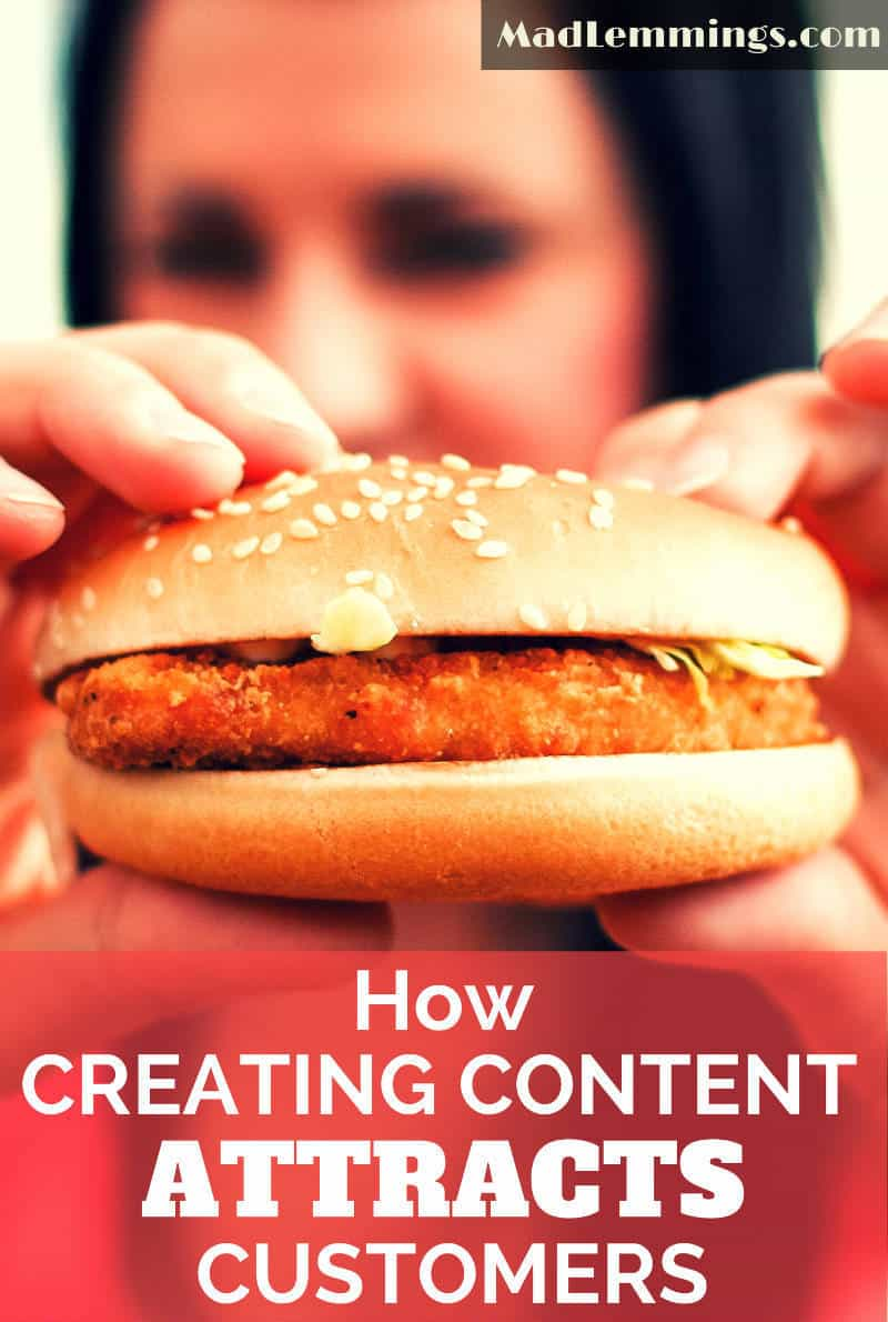 How Creating Content Attracts Customers