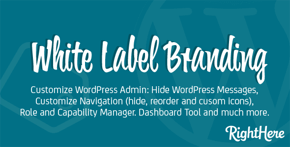 White Label Branding For WordPress Plugin