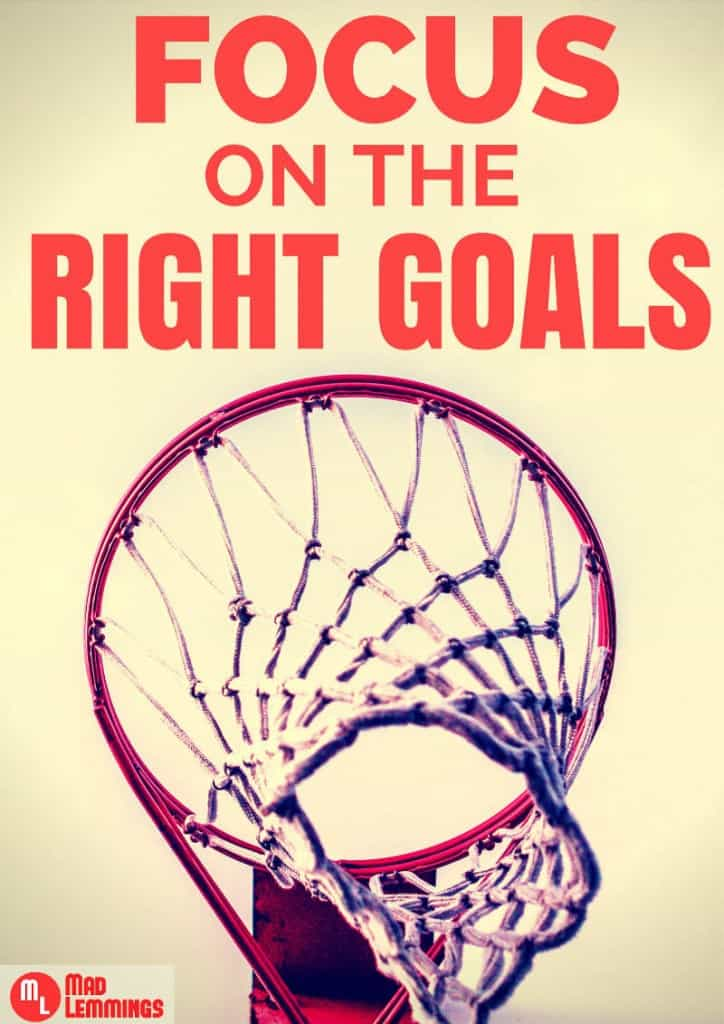 Focus on the Right Goals in 2015 #goals