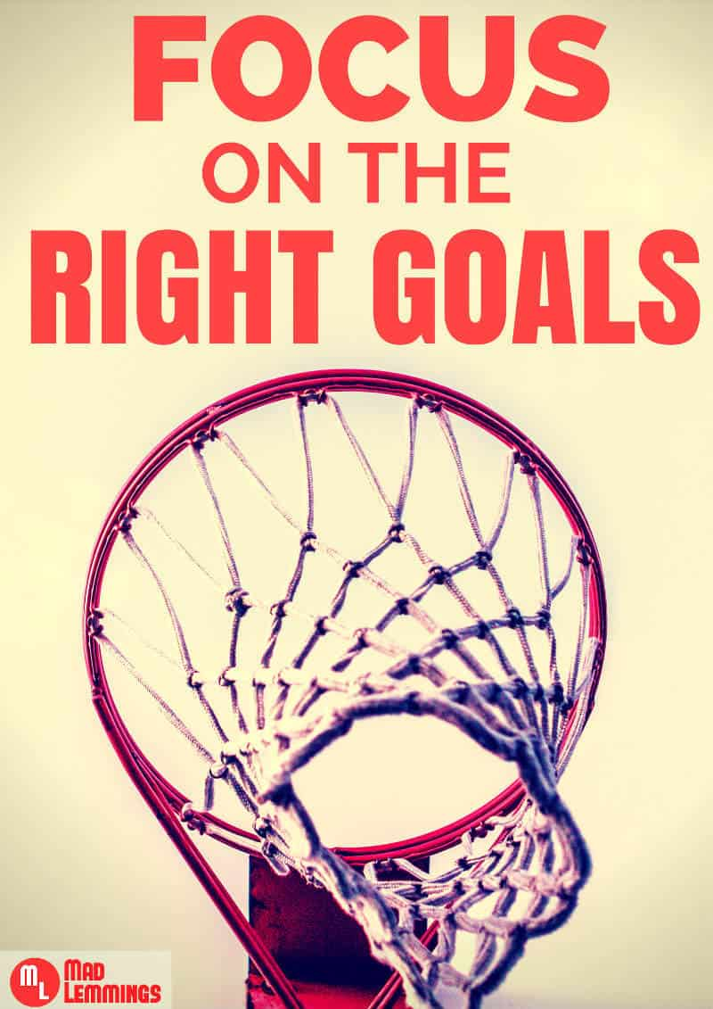 focus on the right goals in 2015 stop wasting your time mad lemmings
