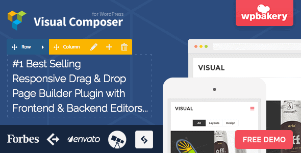 Visual Composer WPBakers Page Builder