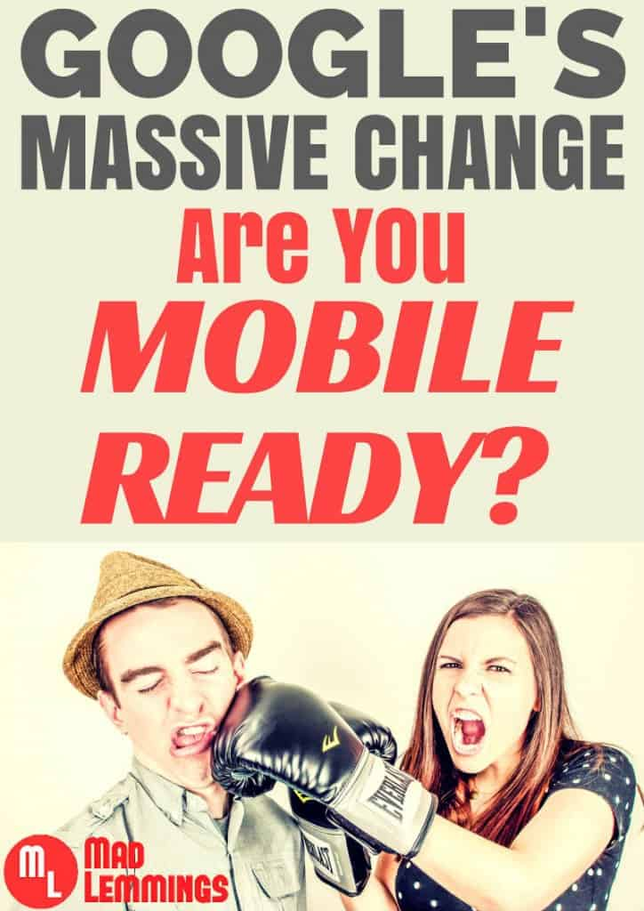 Google Update - Is Your Website Mobile Friendly?