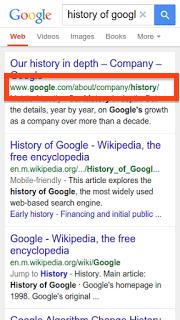 Google URL Schema Changes 2