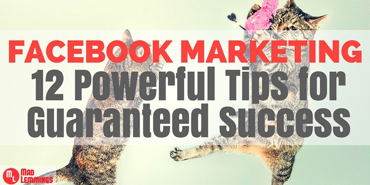 Facebook Marketing: 12 Powerful Tips for Guaranteed Success