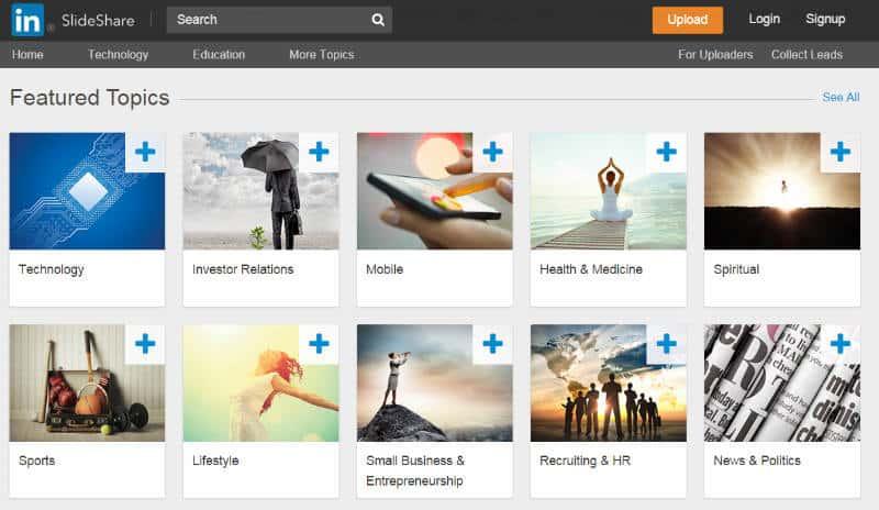 Try New Visual Mediums - Slideshare