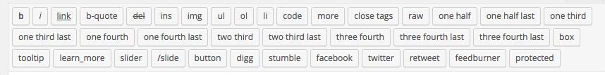 Elegant Themes Columns in Toolbar
