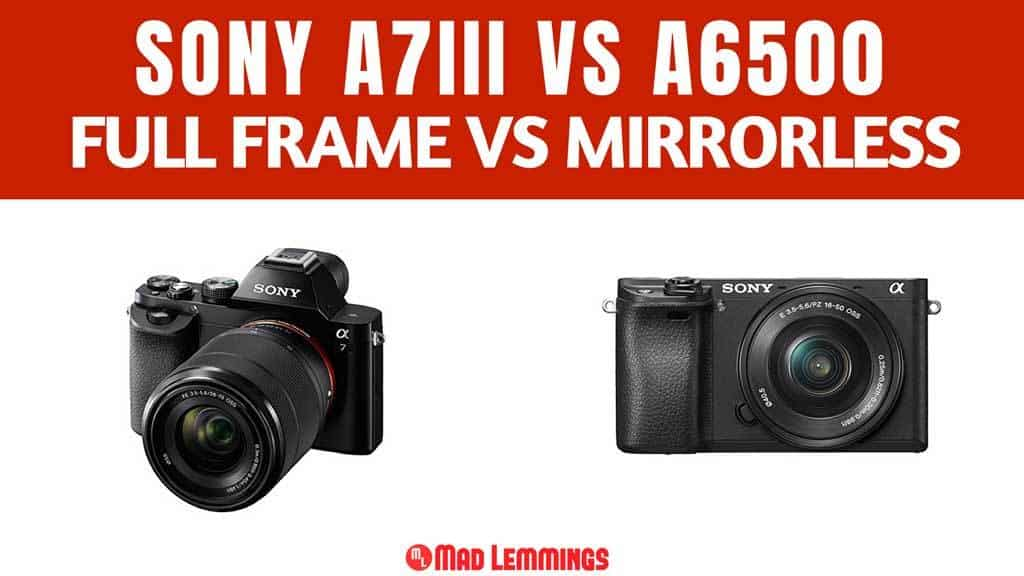 Sony A7iii vs A6500 Camera Comparison Review - Mad Lemmings